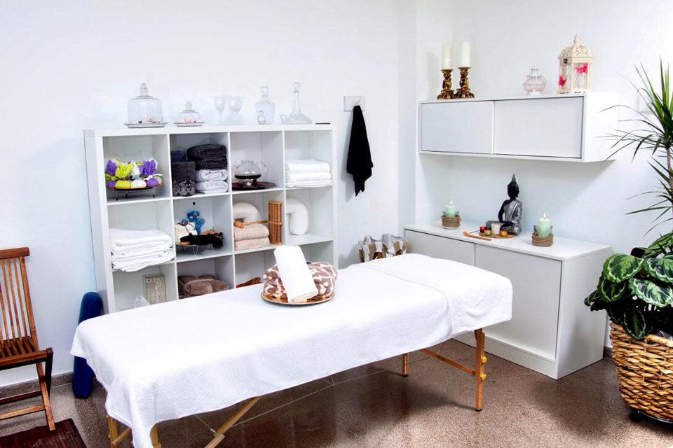 masaje a domicilio o masaje en casa