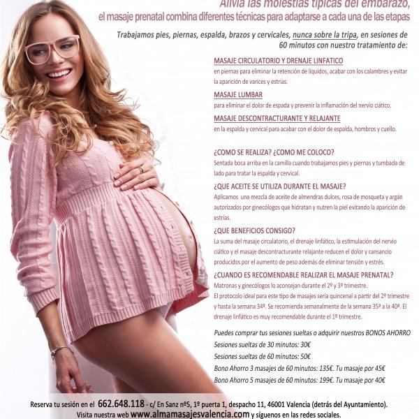 Masaje Prenatal para Embarazada